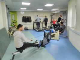 Μάθημα Γυμναστικής στο Γυμναστήριο της Σχολής